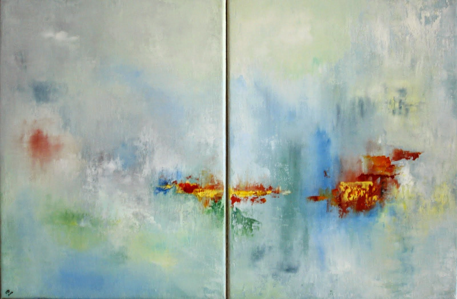 Echo duo (diptyque) 60x40